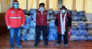 Puno: 12 distritos fueron considerados para la entrega de kits de abrigo